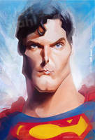 Superman, by Jeff Stahl by JeffStahl