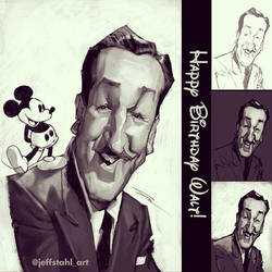 Happy birthday Walt Disney! by JeffStahl
