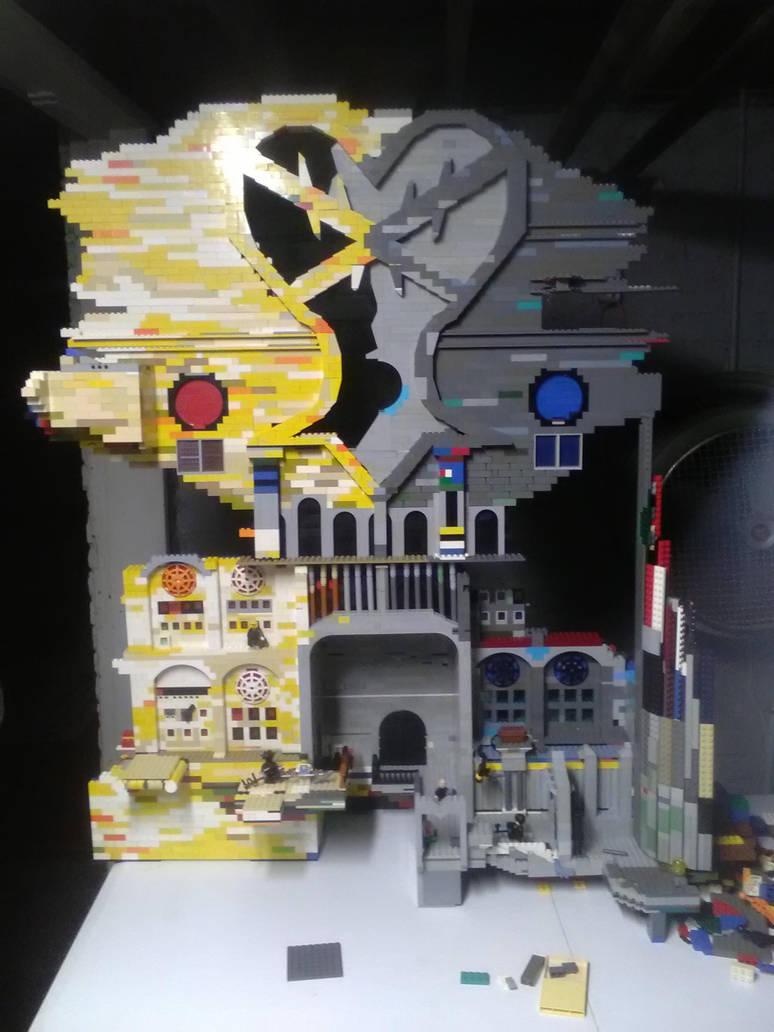 Lego hollow bastion by sheilded-key