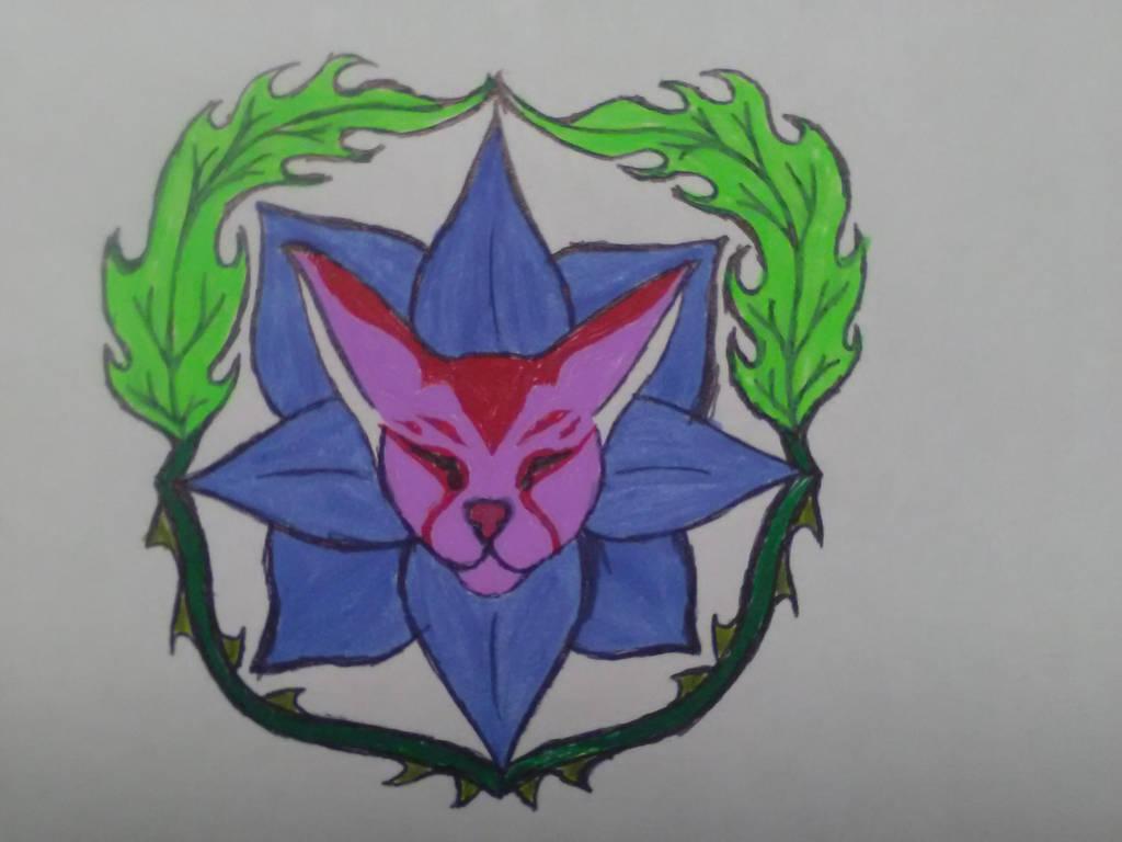 Warframe clan emblem concept by sheilded-key