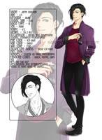 .:Profile card - Jareh:. by rupuceree