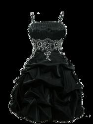 Little Black Dress PNG by Vixen1978