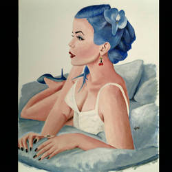 blue never looked so beautiful  by MusicalPinup