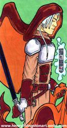 Artemes Saxx - Jedi Weapon Master by ARCHEIENGEL