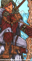 Demetrius - Dragon Hunter by ARCHEIENGEL