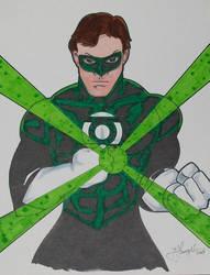 Green Lantern by ARCHEIENGEL