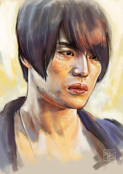 Portrait practice #11 by gojuu-art