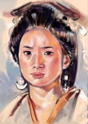 Portrait practice #55 by gojuu-art