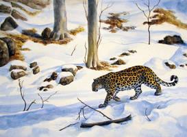 Amur leopard by Kivuli