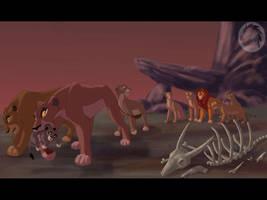 Zira's exile by Kivuli