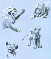 TLK sketches by Kivuli