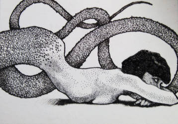 Snake Woman 6 by H-M-B