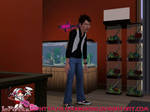 the sims 3 An angry young man by lepunkz1986