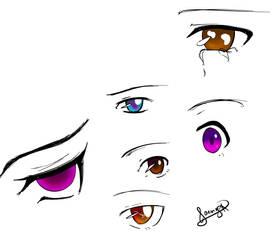 Anime Eyes by zZJoennZz