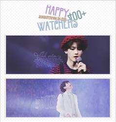 250616. HAPPY 400+ WATCHERS by sunsuperman