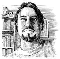 Self Portrait by jeh-artist