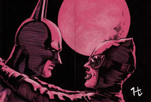 Batman and Catwoman by jeh-artist