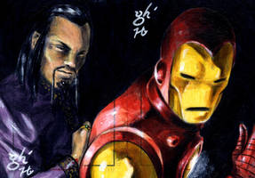 Iron Man vs. Mandarin by jeh-artist