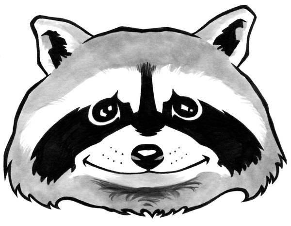 Raccoon by jeh-artist