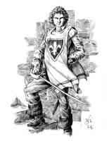 Inktober the 1st by jeh-artist