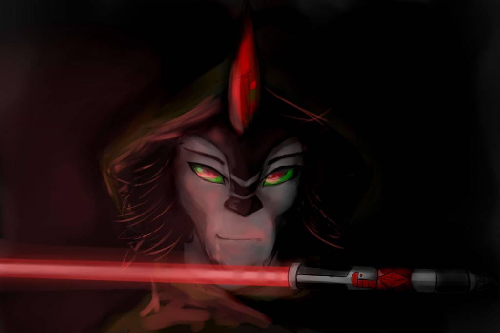 Darth Sombra by Eskerra