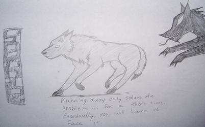 Running Away by LightningGuardian