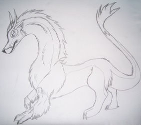 Athis Sketch by LightningGuardian