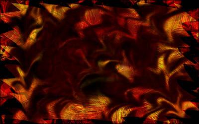 Fire Abstract Wallpaper by LightningGuardian