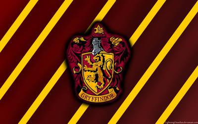 Gryffindor Wallpaper by LightningGuardian