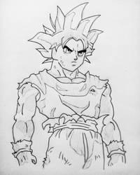 Goku Ultra Instinct by animelifeawesome