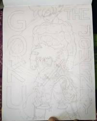 Goku: The Journey (Pencils)  by animelifeawesome