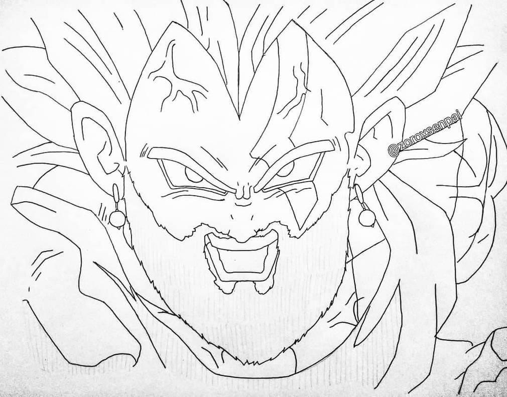 Vegeta x Kratos by animelifeawesome