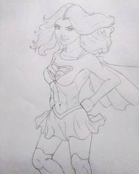 Supergirl by animelifeawesome
