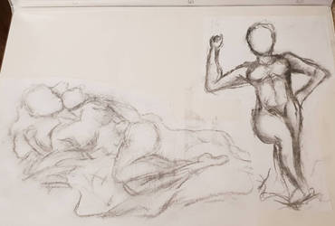 Life Drawing Three by NatalieGuest