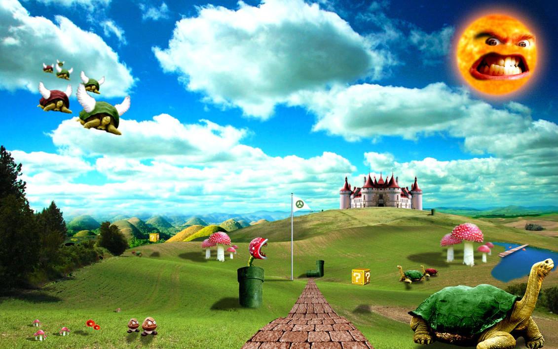 The Real Mushroom Kingdom by HappyRussia