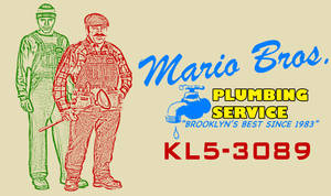 Mario Bros. Business Card by HappyRussia