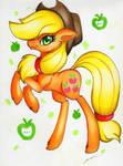 Applejack by LuxiWind