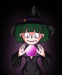 Witch magic shall i use? by Dandilli