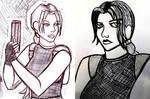 a couple of aod lara doodles by boltun