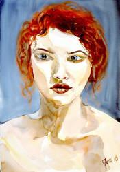Ginger, 35x51 by JensMalmgren