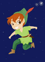 Peter Pan by ThEsIlKe