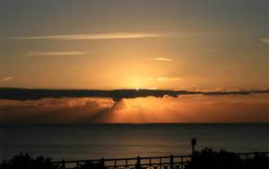 Brighton Sunset by flatproduct