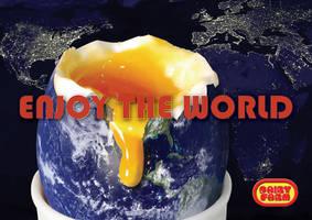 Enjoy the world by flatproduct