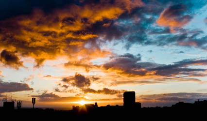 Another Sunset in Brighton 002 by flatproduct
