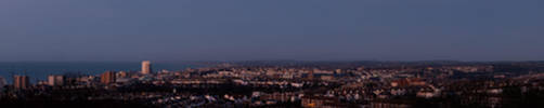 Brighton AM panorama by flatproduct