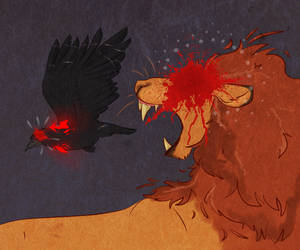 the lion and his conscience by petravi