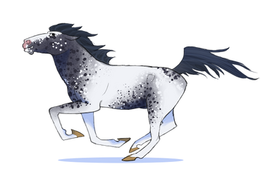 Horse Character by petravi