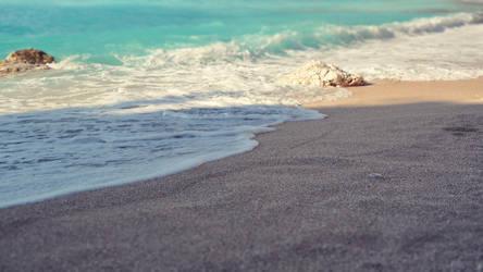 Myrtos beach by DejanB