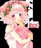 Render: Pink girl by MiinJae