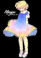 Render: Lady Azul by MiinJae